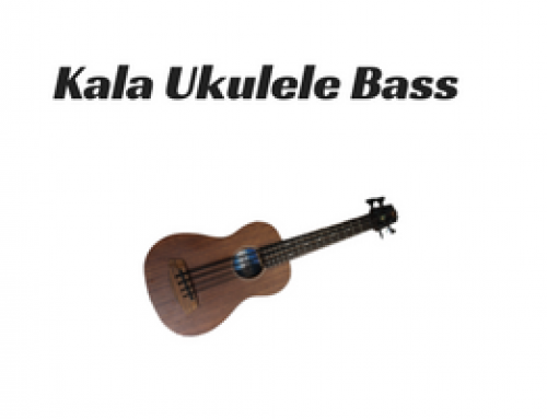 Kala U Bass – electric bass ukulele